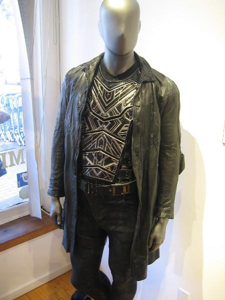 Captain Lorca Terran Armor and Jacket.