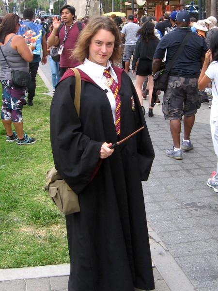 Hermione Granger cosplay.