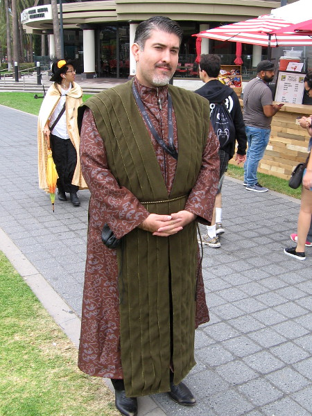 "Cosplay of Petyr ""Littlefinger"" Baelish from Game of Thrones."