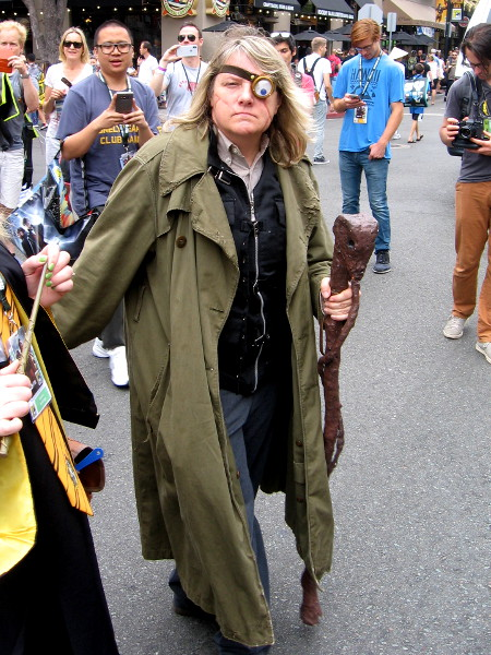 "Alastor ""Mad-Eye"" Moody cosplay."