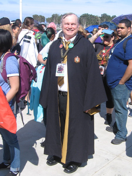 Cedric Diggory cosplay. An early glimpse of magic.