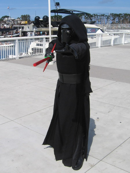 Hopefully Kylo Ren does me in before I have to witness one of his temper tantrums.
