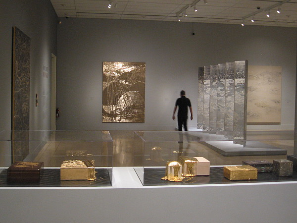 Exquisitely beautiful art shines at the Nancy Lorenz-Moon Gold exhibition at the San Diego Museum of Art.