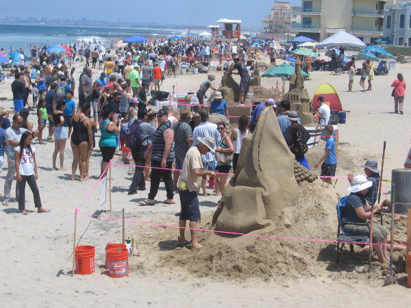 A big crowd turned out on a sunny summer Saturday in Imperial Beach to enjoy the annual Sun and Sea Festival.