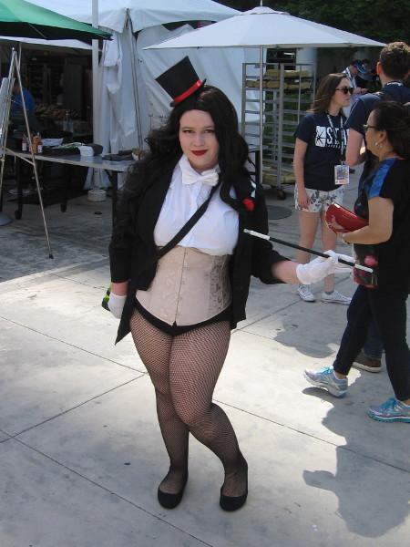 Zatanna cosplay. Magic is her specialty.