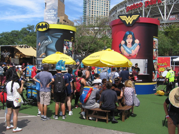 But I could easily gobble a few free scoops of DC Super Hero Ice Cream!