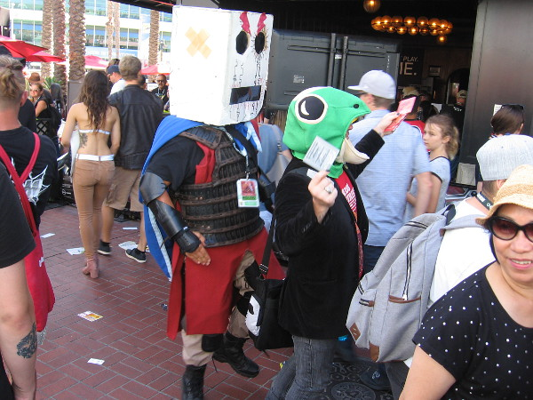 More fun, creative, absurd cosplay.
