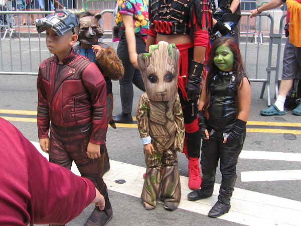 A small version of the Guardians of the Galaxy!