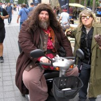 Harry Potter characters cosplay at Comic-Con!