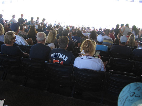 I saw many Hoffman jerseys.