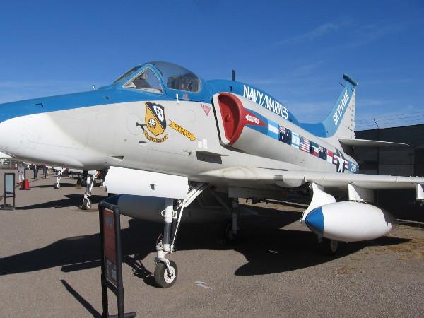 McDonnell Douglas A-4M Skyhawk II.