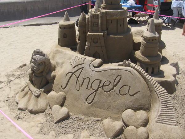 Here's a tribute to a young superhero. A young lady named Angela had her wish made true by the Make-A-Wish Foundation.