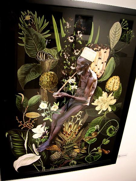 Tan Man, a digital collage by Jessi Jumanji.