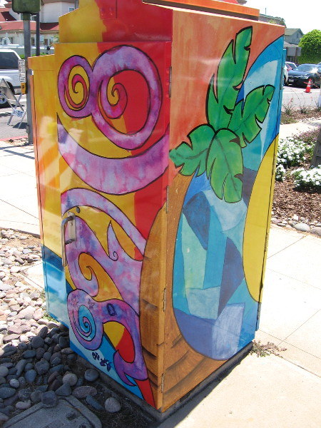 Art Outside the Box celebrates Coronado's zip code 92118.
