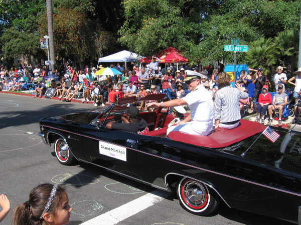 The Grand Marshall this year was Vice Admiral Brown.