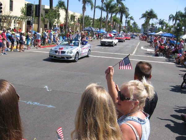 The Fourth of July Parade in Coronado goes on and on with too many participants to mention!
