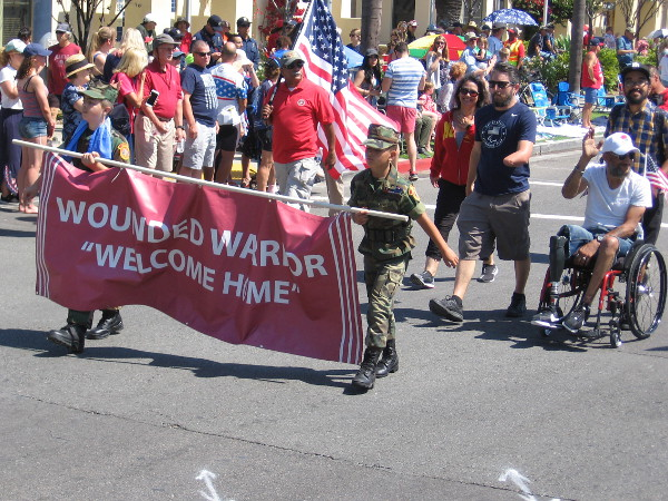 Wounded Warriors get a big Welcome Home!