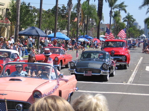 As you might imagine,lots of cool cars were in the parade.