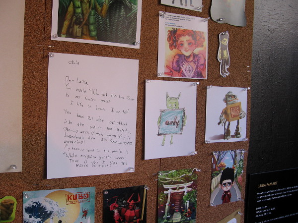 Examples of one letter and some fan art.