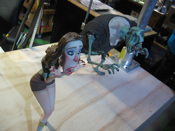 Two of the puppets, I believe from ParaNorman.