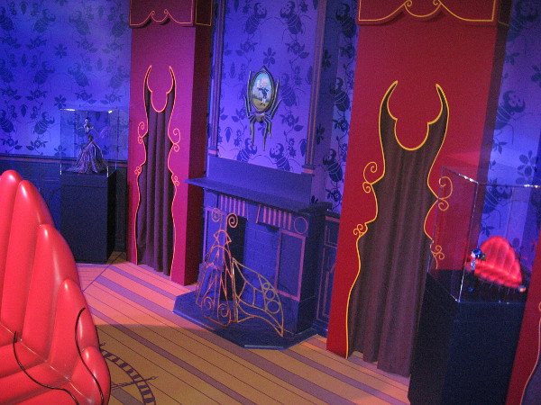 Near the end of the tour, there is a life-size replica of Coraline's Other World Living Room.
