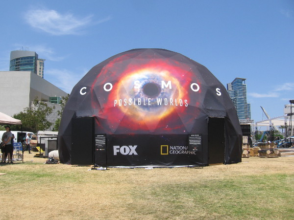 FOX and National Geographic will be previewing Cosmos Possible Worlds.