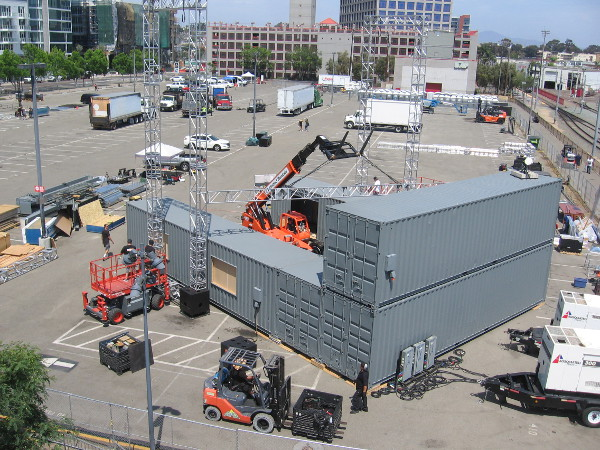 I believe this will be a big stage in one corner of the Experience at Comic-Con.