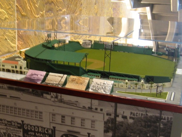 Model of Lane Field as it appears today.