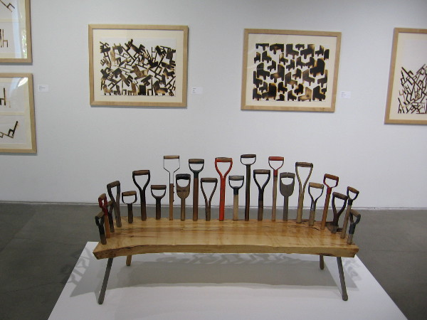 Artwork now on display in the SDSU Downtown Gallery includes extraordinary furniture!