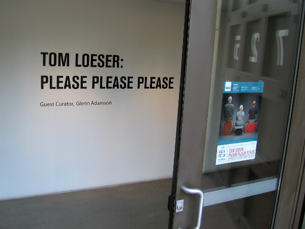 The art exhibition Tom Loeser: Please Please Please is now showing in downtown San Diego.
