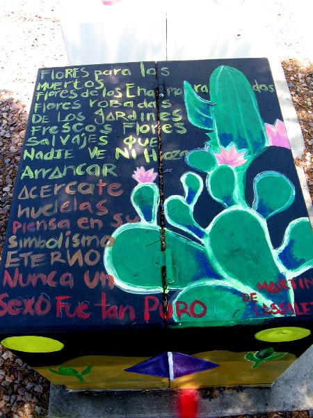A poem. Flores para los Muertos - Flores de los Enamorados... Flowers for the Dead - Flowers of the Lovers...