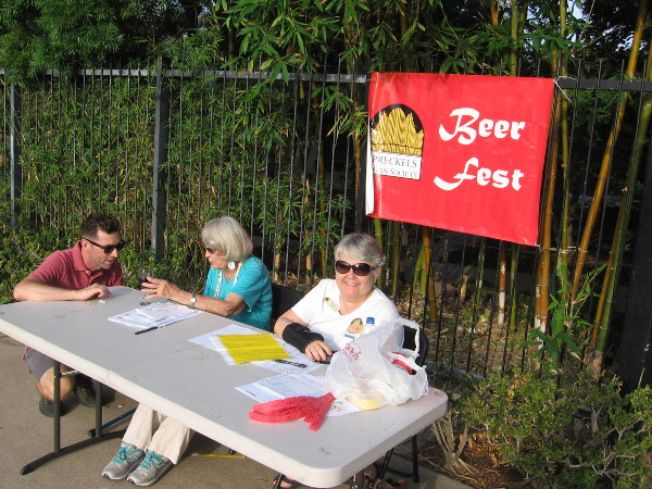 The Spreckels Organ Society Beer Fest inside the nearby Japanese Friendship Garden raised funds to help keep free organ concerts alive.
