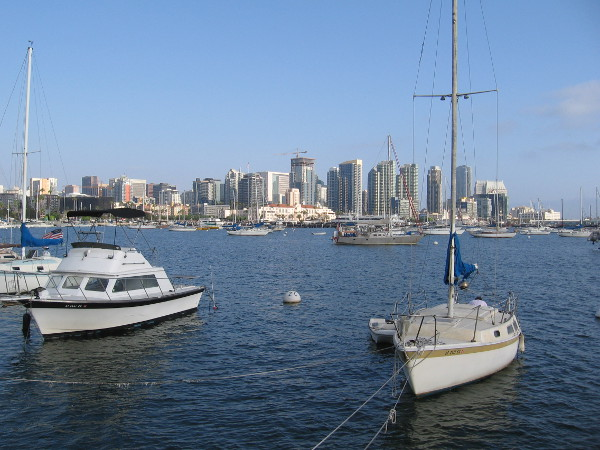 Now I'm on the Embarcadero by the water, in the Crescent Area that I visited in my last blog post.