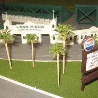 Model of Lane Field stadium at Petco Park.