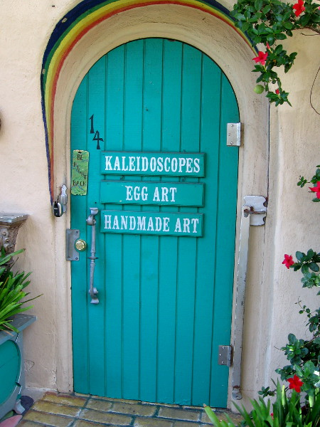 The local artists in Studio 14 specialize in Kaleidoscopes, Egg Art and Handmade Art.