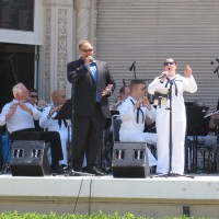 Photos of Navy Band Southwest Alumni Concert.