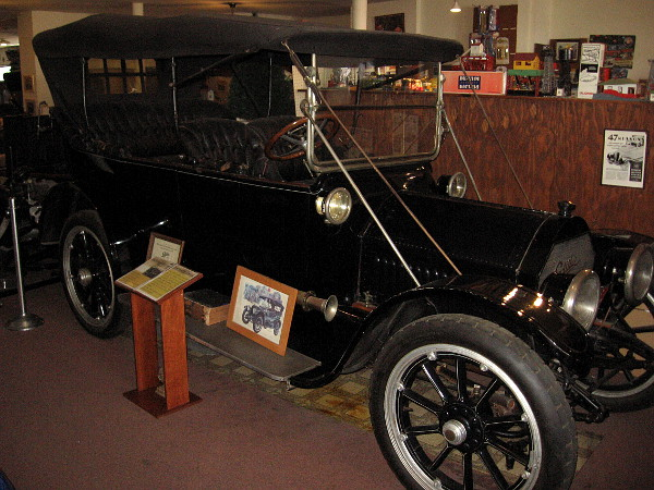 1913 Cadillac Model 48. This car on display is the most original 1913 Cadillac left in existence today.
