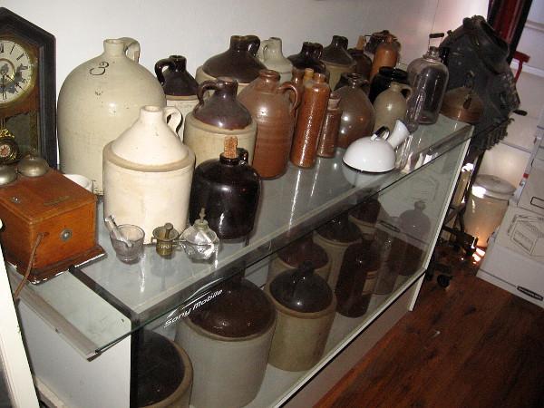 A bunch of jugs!