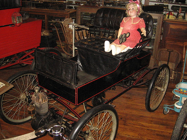 1900 Crest. This extremely original car is also very rare, with few left in existence today.