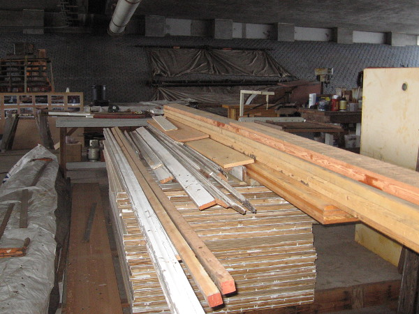 Lots of lumber!