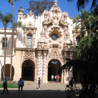 Endless scenes of beauty in Balboa Park.