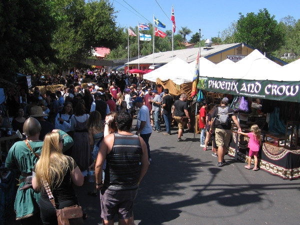 The very popular Vista Viking Festival attracts thousands of visitors every year.