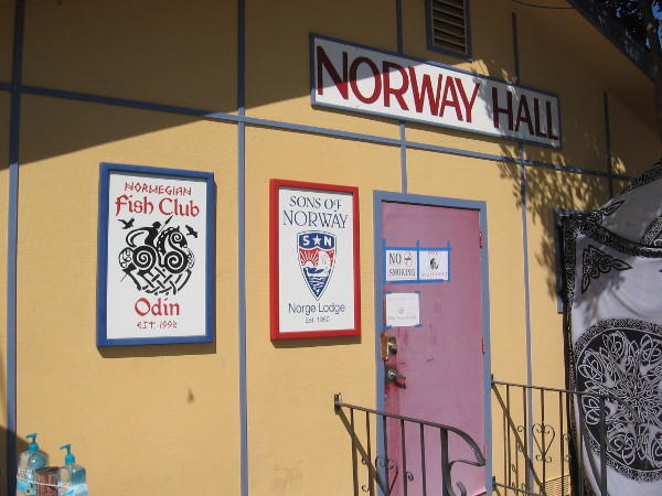 Norway Hall in Vista is where locals gather to share unique culture and history from old Scandinavia.