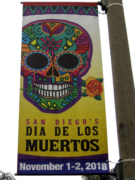 Dia de Los Muertos is coming again to Old Town San Diego State Historic Park. It's one of my favorite events.