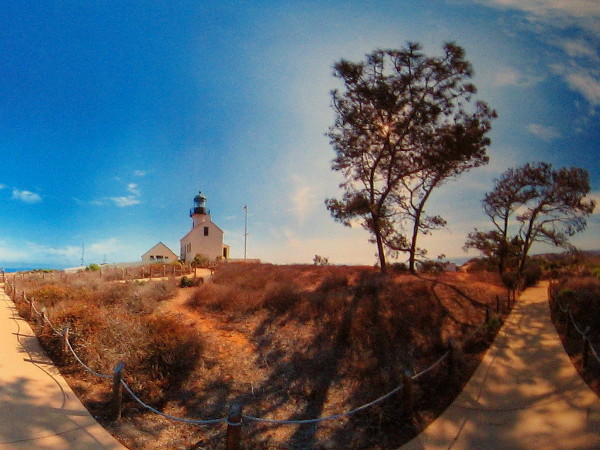 Cabrillo National Monument is one of the places that will surround you--as if you are there!