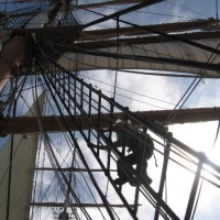 Star of India sail crew prepares for history!