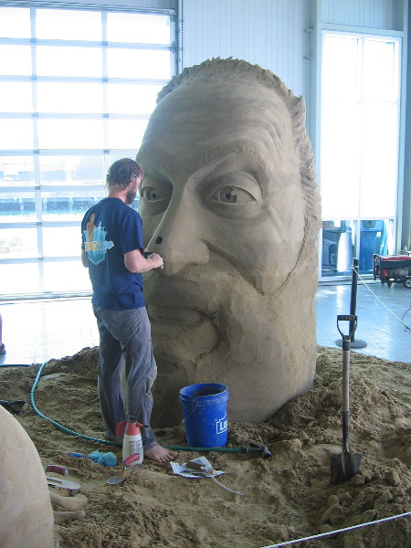 To Have and To Hold, an amazing sand sculpture by World Master Abram Waterman from Prince Edward Island, Canada.