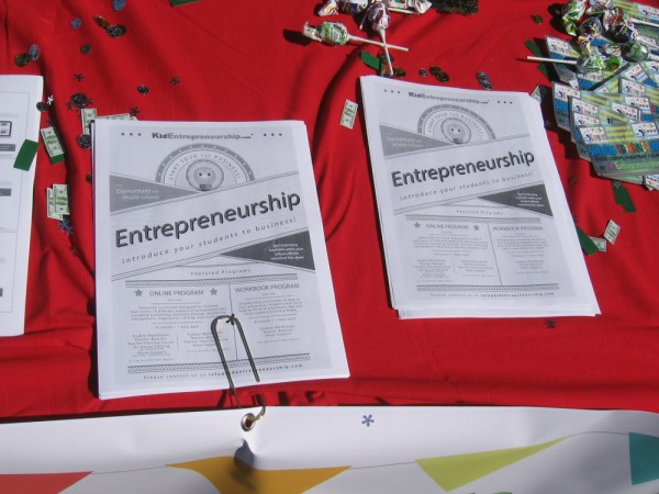 Online programs and introductory curriculum where students can learn about entrepreneurship are available at KidEntrepreneurship.com