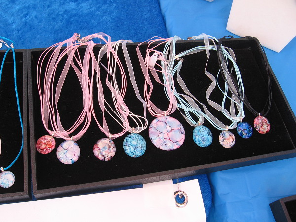 Amy makes handcrafted jewelry which is full of color. She is inspired by the beauty of nature.
