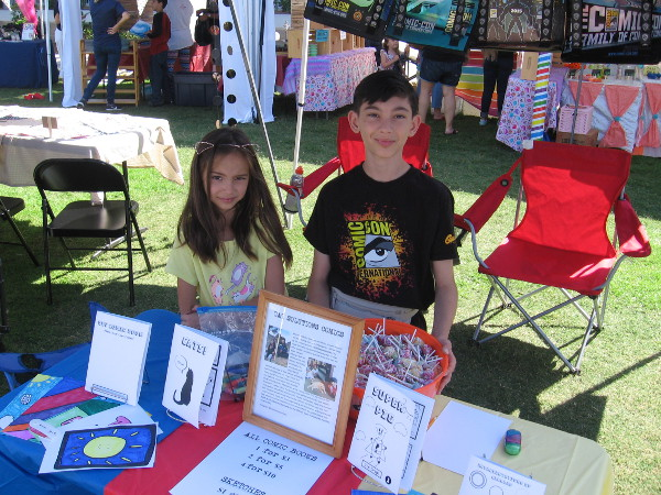 These friendly kids have created @catsolutionscomics. Check it out on Instagram!
